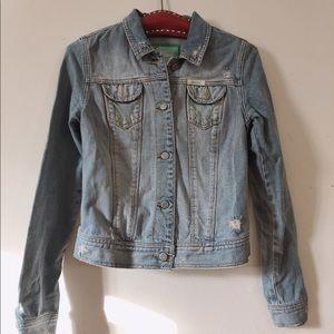 Women hollister size M jeans jacket